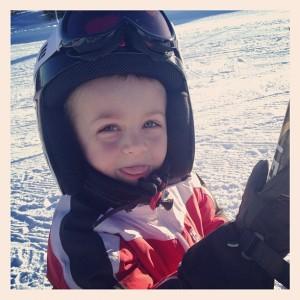 En skitunge goskille